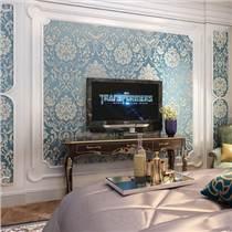 壁紙背景墻  智能家居沙發電視背景墻各種風格大全
