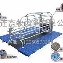 大慶母豬產仔豬保育床鑄鐵塑料漏糞地板母豬仔豬食料槽