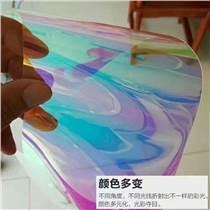 炫彩隔熱膜商場櫥窗展柜玻璃貼膜漸變裝飾膜