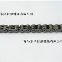 青島定制空心銷軸鏈條_板式鏈條_叉車鏈條