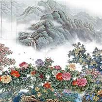 張松茂關門弟子王志遠陶瓷壁畫酒店家庭裝修陶瓷壁畫定做
