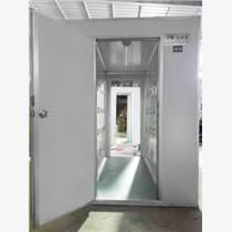 成都彩鋼板風淋室廠家  自動感應彩鋼板風淋室