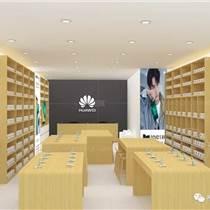 智能手機展示柜臺 品牌手機鐵質玻璃封閉式銷售柜臺