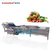山東諸城康致達全自動蔬菜水果海鮮清洗機