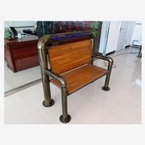 很久以前老榆木鋼管鏤刻椅子 生產廠家