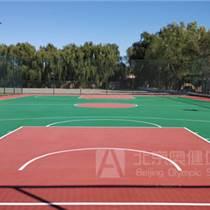 硅pu球場材料-硅pu球場材料廠家-塑膠籃球場施工