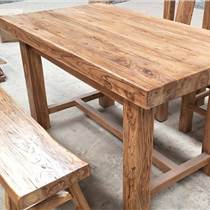 聚餐時,有沒有遇到過老榆木餐桌椅椅子好高的尷尬