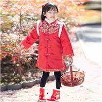 瑤慕語過年大紅色兒童外套衡水左岸商貿有限公司