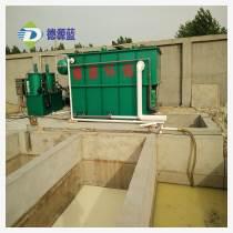 諸城德源環保 小型塑料廠污水處理設備 編織袋清洗污水