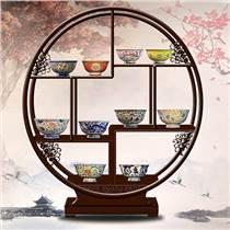 十全十美帝王瓷碗仿古中式碗套裝博物館收藏