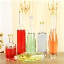 伏特加酒瓶高檔紅酒瓶冰酒瓶玻璃瓶