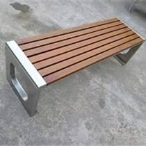 成都供應園林景觀不銹鋼金屬坐凳公園長椅廠家