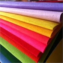 彩色毛氈布 廠家直銷彩色羊毛化纖毛氈布 高密度毛氈