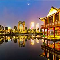 夜游經濟大趨勢下,文旅燈光秀成為新型商業模式
