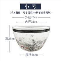 景德鎮陶瓷魚缸睡蓮缸庭院擺件