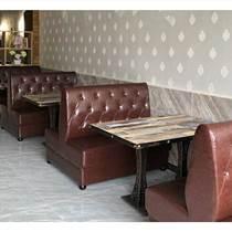 餐飲茶餐廳桌椅定制,咖啡廳桌椅廠家直銷,時尚餐廳桌椅