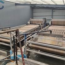 三亚洗沙泥浆脱水设备 环保带式淤泥压滤机定制