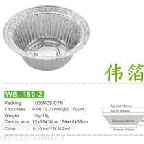 高級綠色打包飯盒 一次性錫紙盒鋁箔餐盒 外賣飯盒煲仔
