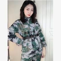 軍訓服戶外訓練迷彩服套裝