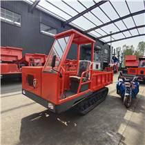 履带式拉木材运输车 山区爬坡稳定的工程履带翻斗车