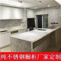 上海櫥柜定制不銹鋼灶臺柜櫥柜一體石英石臺面經濟型廚房