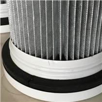 廠家生產除塵器濾筒 除塵濾芯 覆膜聚酯纖維濾筒 規格