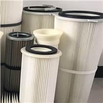廠家生產除塵器濾筒 覆膜聚酯纖維濾筒 規格定制