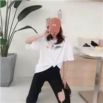 清仓甩卖女短袖T恤3元女装男装童装T恤批发