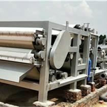 洗沙泥浆脱水处理设备 带式沙场泥浆压滤机报价