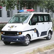 貴州電動巡邏車8座全封閉豪華型
