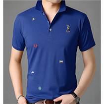 厂家定制2020夏季新款纯棉刺绣POLO衫男式