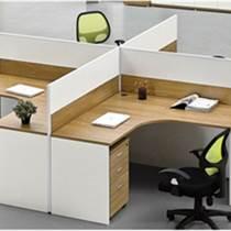 簡約現代職員辦公桌小清新卡位廣州盛源家具支持定制廠家