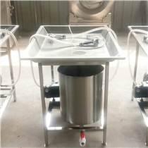 供應牛羊肉手動鹽水注射機鴨鵝帶骨產品鹽水注射豬頭肉鹽