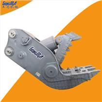 挖掘機液壓鉗鱷魚鉗粉碎鉗大鋼牙生產廠家