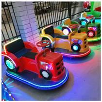 新款兒童拖拉機碰碰車廣場電動雙人成年擺攤發光車