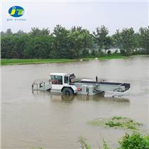 厂家直销水浮萍打捞船 水面漂浮树枝清廉船 水面保洁船