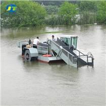 江苏清洁水莲水草收割打捞船 垃圾清漂船 水面保洁船