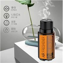 東莞潤慶玻璃香薰機創意精油瓶加濕器廠家直銷