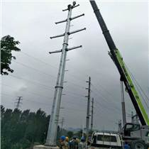 10KV電力鋼桿 輸電線路架線電力鋼桿 高壓架線電力