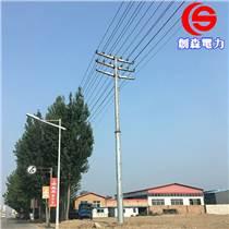 耐張線路鋼管塔 雙回電纜鋼管桿 鋼管桿電力鋼桿 輸電
