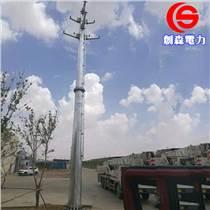 生產35KV電力鋼管桿 電力鋼桿基礎螺栓 鋼管桿樁基