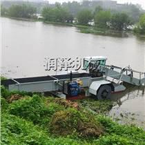 廣東河道內水草收割割草船 清理船 水面保潔船 水草垃