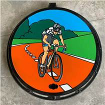 市政 小區景觀彩繪井蓋 藝術裝飾井蓋