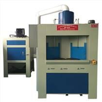 電鍍前處理電熱爐內膽設備 金華轉盤式自動噴砂機