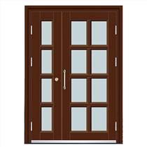 厂家直供单元对讲门 小区楼宇门 不锈钢单元门