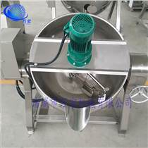 廠家直銷 電加熱可傾式夾層鍋 不銹鋼攪拌夾層鍋 鹵煮