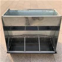 供應豬用不銹鋼料槽 保育雙面料槽 豬食槽 靖林畜牧設