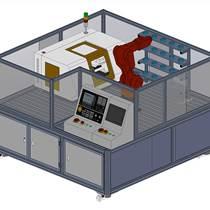 工業機器人上下料教學實訓平臺