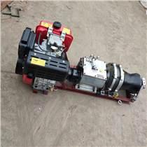 電纜雅馬哈汽油電力卷揚機5T柴絞磨機皮帶傳動