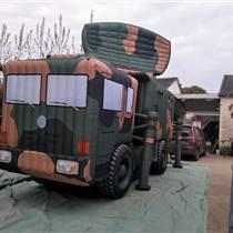 廠家供應火炮模型充氣坦克飛機導彈發射車雷達車通訊車定